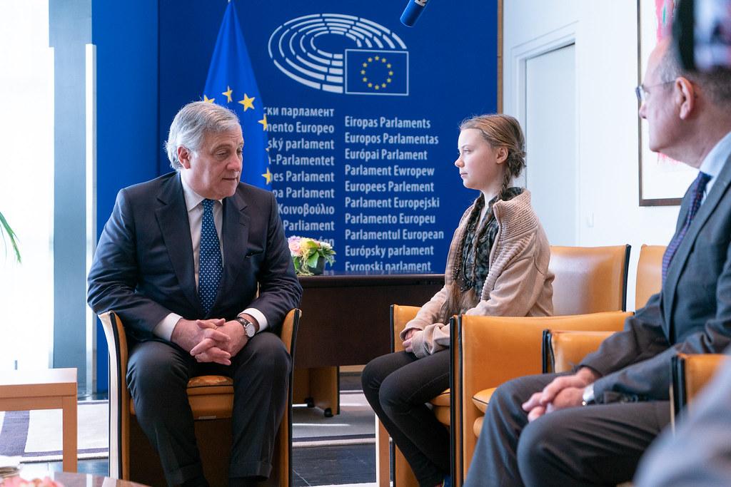 Greta Thunberg Parlement européen