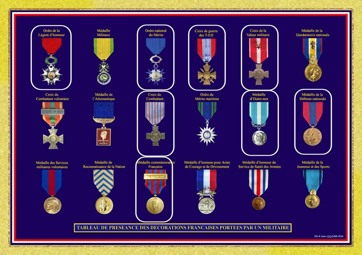 Médailles Lecointre