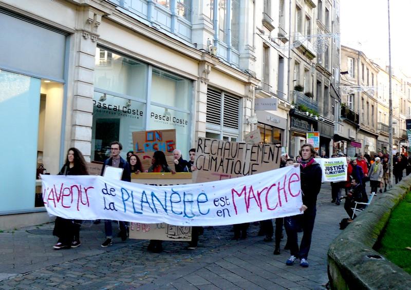 Manifestation Climat Poitiers 12 décembre 2018