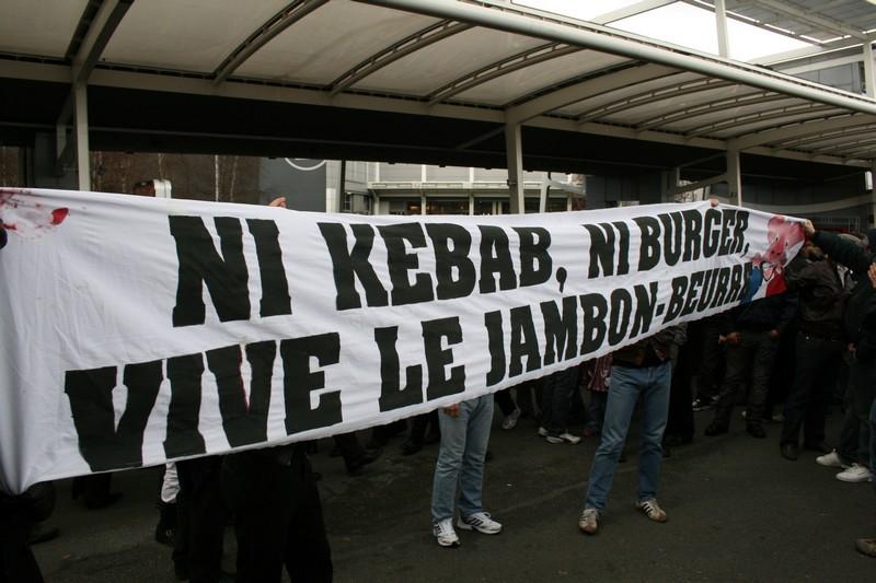 Ni kebab ni burger Vive le jambon-beurre