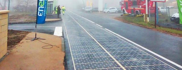 Panneaux solaires route Tourouvre-au-Perche