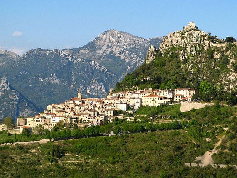 Sainte-Agnès village Alpes Maritimes