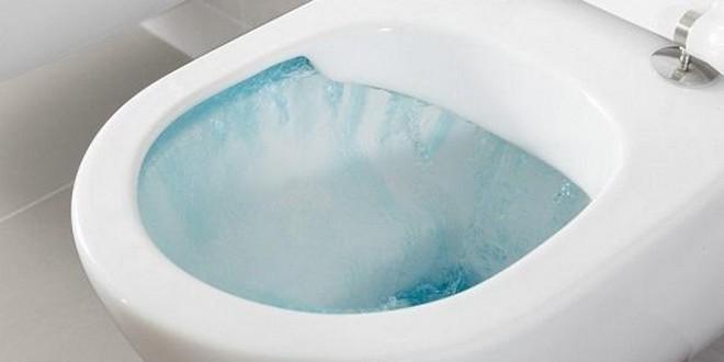 Cuvette toilettes chasse eau