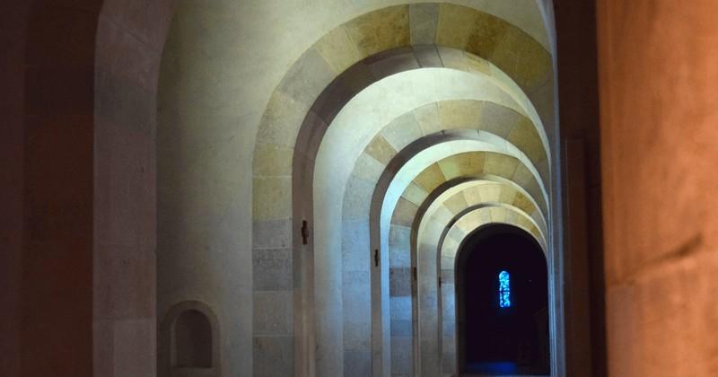 Abbaye Barroux - intérieur