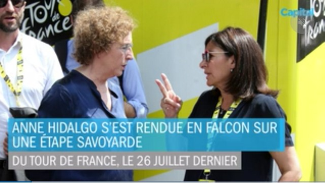Anne Hidalgo Tour de France 2019 Falcon