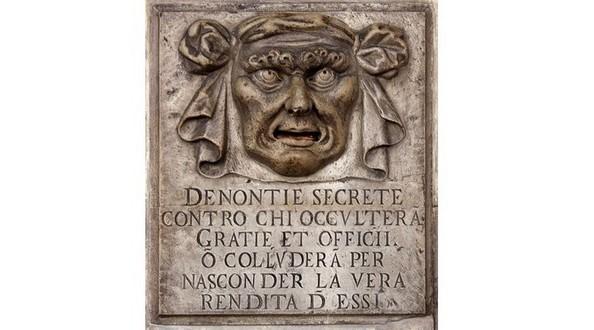 Bouche de dénonciation - Palais des Doges à Venise
