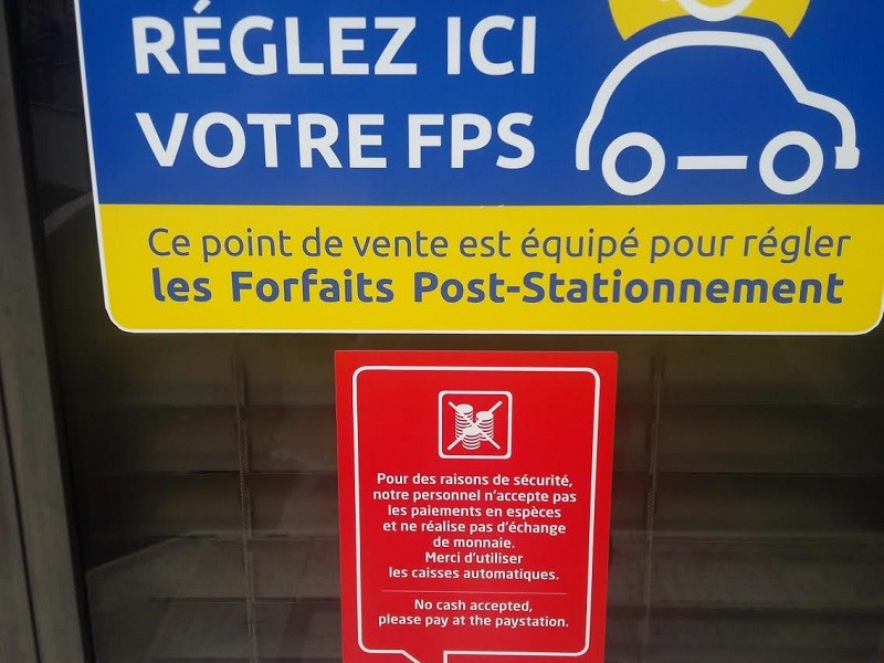 Cagnes-sur-Mer Indigo poste paiement verbalisation privée