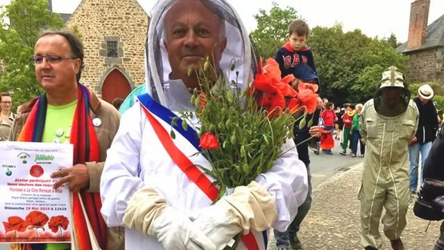 Daniel Cueff maire Langouët lutte contre pesticides