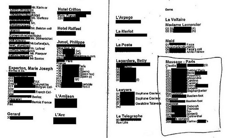 Epstein Carnet noir France