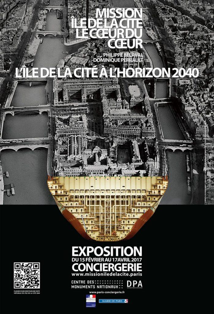Paris Île Cité horizon 2040