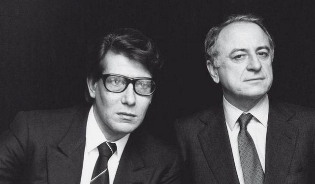 Yves Saint-Laurent - Pierre Bergé