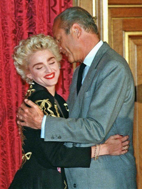 Chirac - Madonna