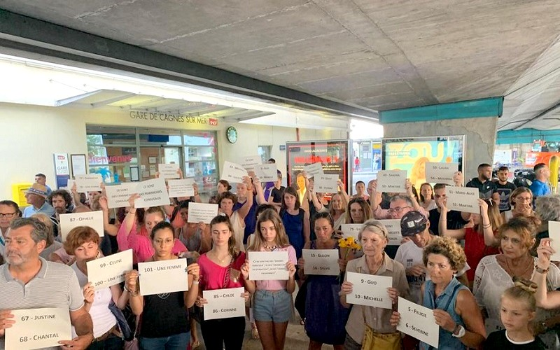 Femmes victimes féminicides Cagnes-sur-Mer