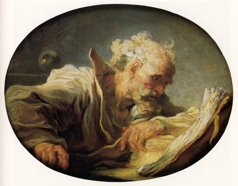 Fragonard Vieux comme Mathusalem