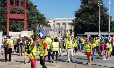 Les Gilets Jaunes Victoire 06 à Genève