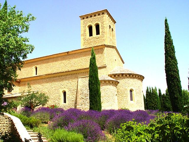 Abbaye Barroux - Église