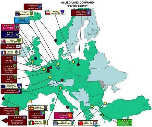 Carte OTAN