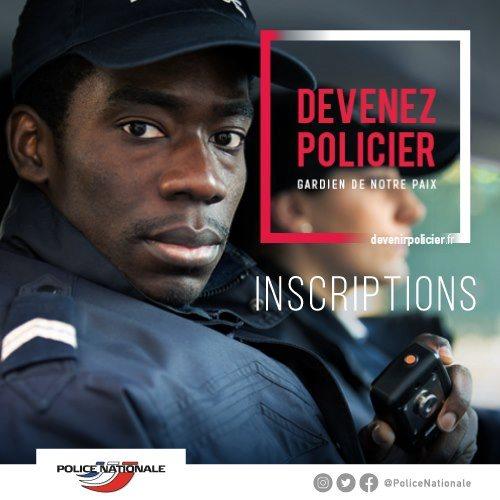 Devenez policier - racisme pro-noir