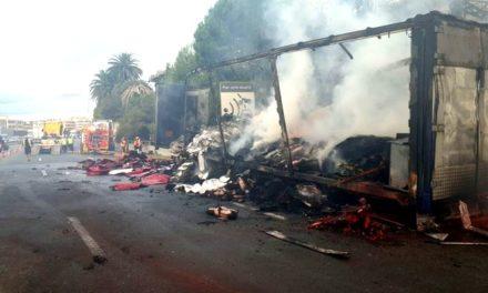 Autoroute bloquée à Nice: catastrophe écologique, économique, sociale et politique