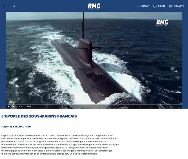 L'épopée des sous-marins français - RMC Découverte