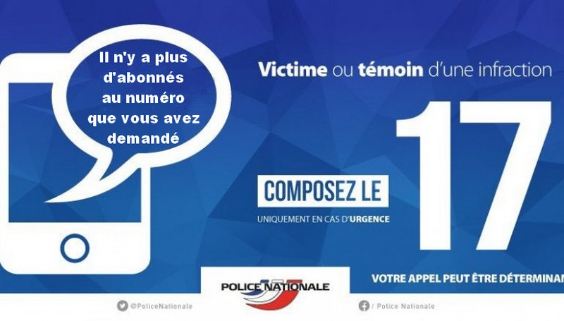 Police secours - 17