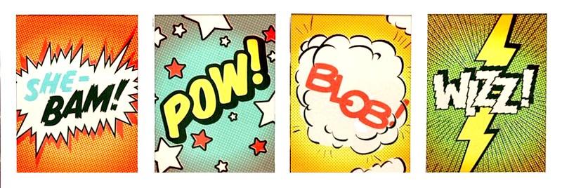 Shebam - Pow - Blob - Wizz - Gainsbourg