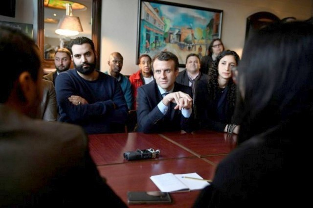 Yassine Bellatar - Emmanuel Macron