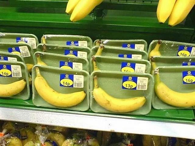 Bananes sous blister