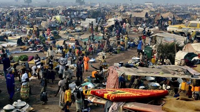Camps régugiés Afrique