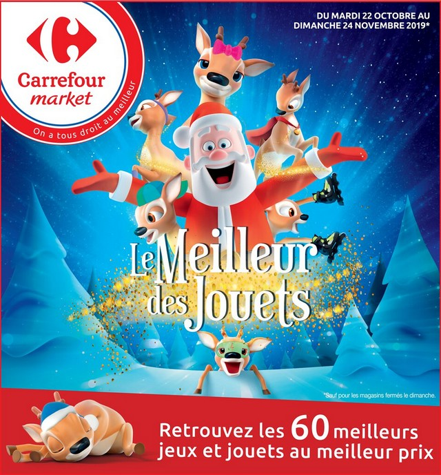 Carrefour - jeux Noël 2019 novembre