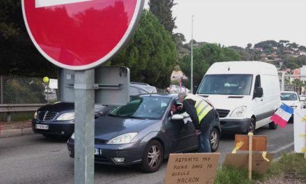 Nice, Antibes, Cannes: les Gilets Jaunes ne lâchent rien