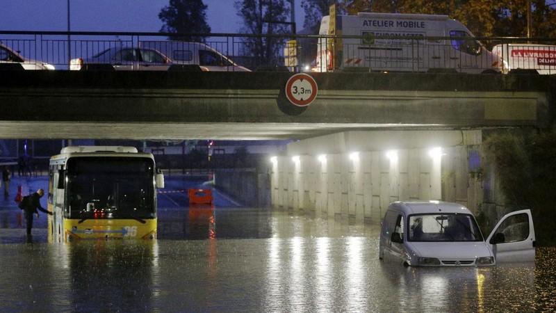 Inondation Nice octobre 2019 France3