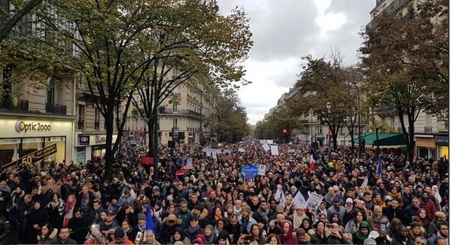 Manifestation islamophobie novembre 2019