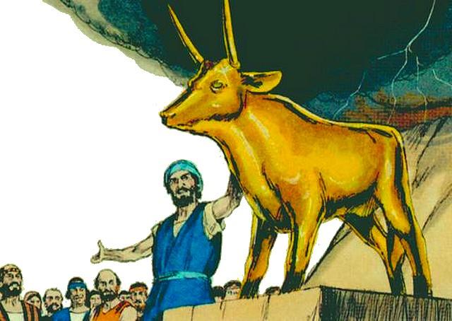 Moïse - Veau or