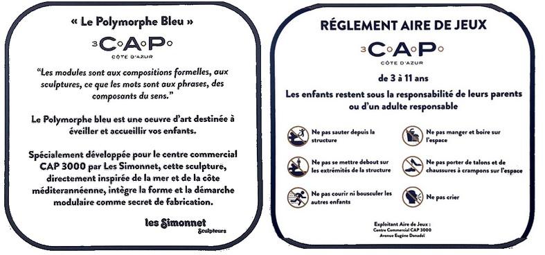 Polymorphe bleu Cap 3000