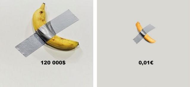 Burger-King-troll-banane-Maurizio Cattelan