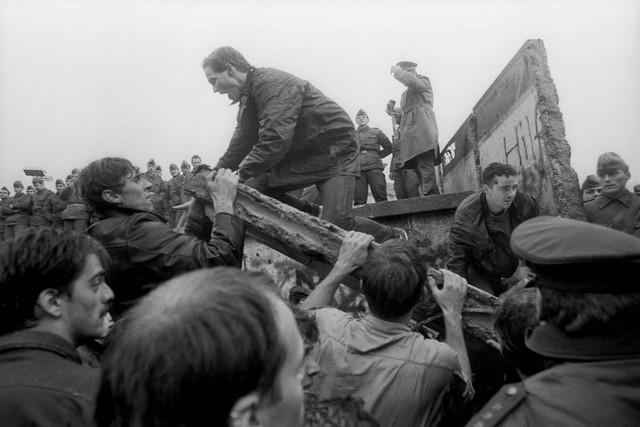 Chute mur Berlin 1989