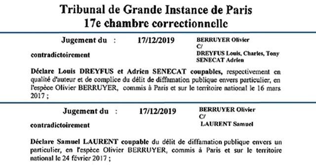 Condamnation Le Monde