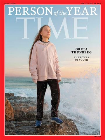 Greta Thunberg - Person of the year - Time 2019