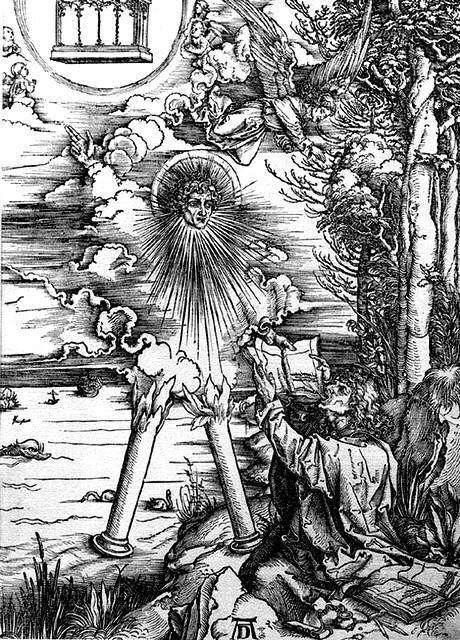 Ange au livre - Albrecht Dürer