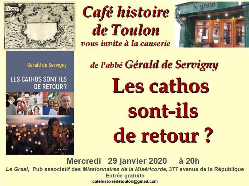 Café Toulon - Conférence 29 janvier 2020 - Cathos retour