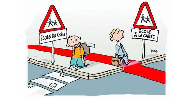 Carte scolaire - École des riches