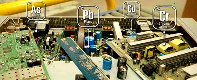 Composants électroniques - métaux lourds