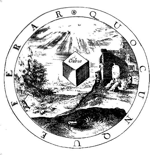 Cube Jérusalem céleste
