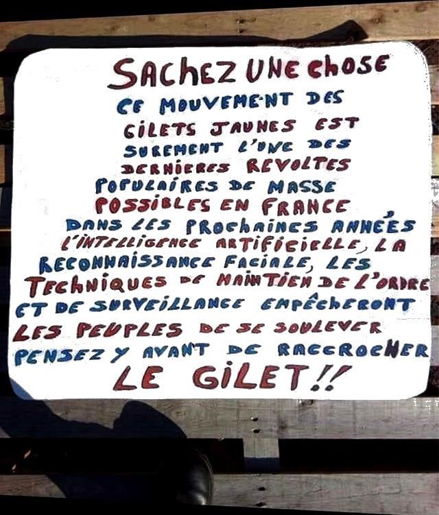 Dictature en marche - Gilets Jaunes