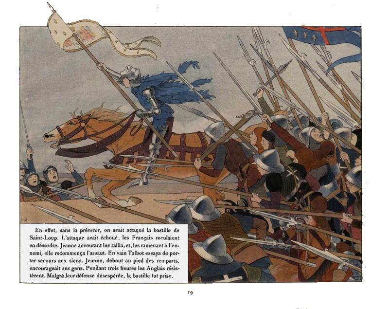 Jeanne d'Arc par Louis-Maurice Boutet de Monvel