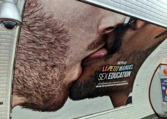 LGBT - Sex education - Affiche