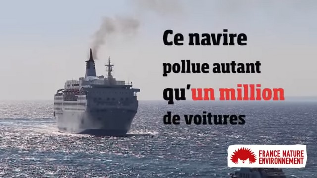 Pollution navires