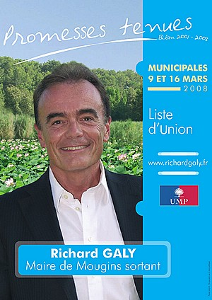 Richard Galy - maire Mougins