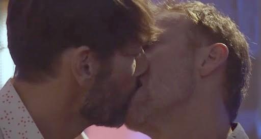 Baiser - homosexuels